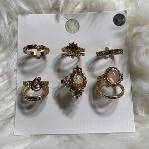 ⭐️4/$20⭐️Forever 21 Stackable Ring Set